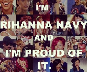 rihanna, rihanna navy, and proud image