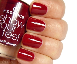burgundy, essence, and manicure image