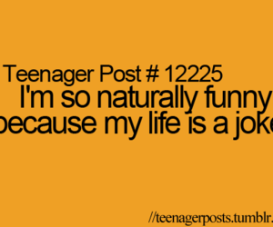 teenager post, funny, and joke image
