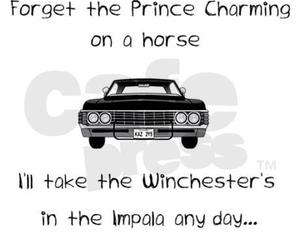 supernatural, impala, and winchester image