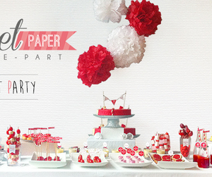 candy bar, mariage, and sweet table image