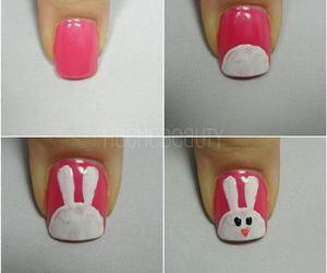 nails, rabbit, and bunny image