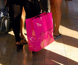 pink, shopping, and betsey johnson image