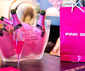 pink, drink, and girly image