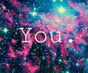 you, galaxy, and stars image