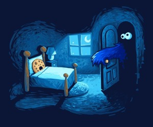 cookie, cookie monster, and monster image