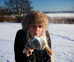 cold, girl, and model image