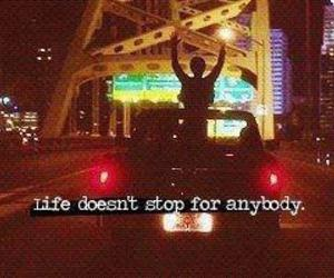 life, quotes, and stop image