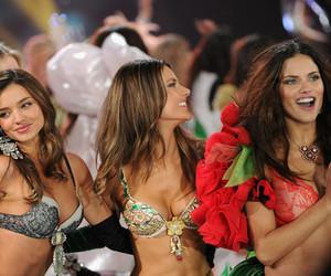 miranda kerr, Victoria's Secret, and Adriana Lima image
