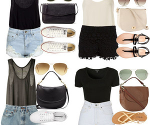 style, croptops, and outfit image