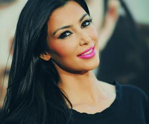 kim kardashian, kim, and make up image
