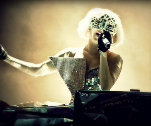 Lady gaga, music, and singing image
