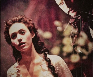 The Phantom of the Opera, emmy rossum, and gerard butler image
