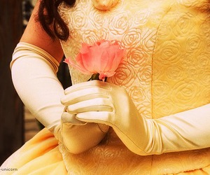 adorable, belle, and dress image