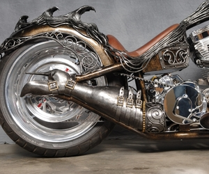 cycle, steampunk, and design image
