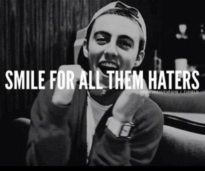 haters and smile image