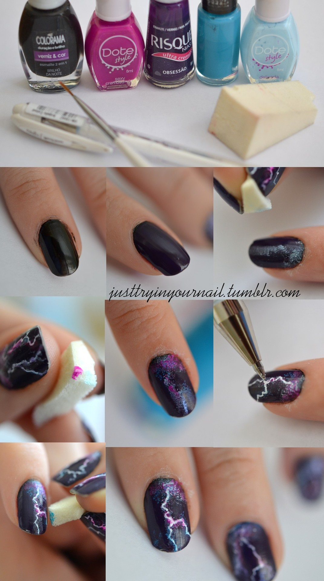 Diy Lighting Nail Design Do It Yourself Fashion Tips Diy Fashion