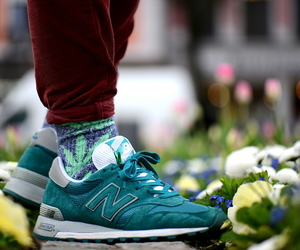 fashion, new balance, and pinroll image
