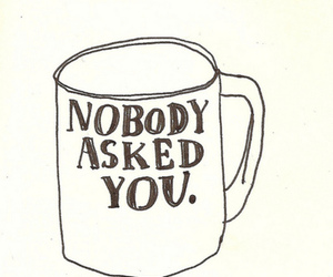 cup, nobody, and you image