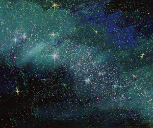 background, glitter, and space image