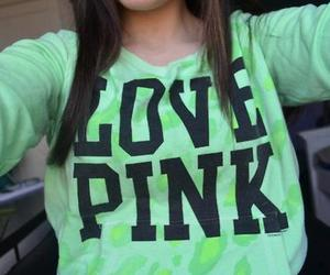 pink, love pink, and green image