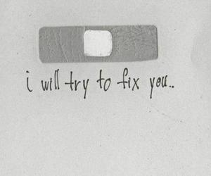fix you, coldplay, and fix image