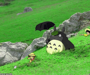 adorable, field, and ghibli image