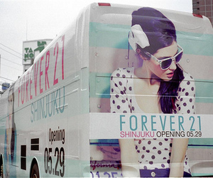 forever 21, bus, and forever21 image