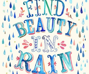 rain, beauty, and quotes image