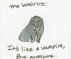 walrus, vampire, and anna hollow image