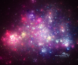 beautiful, colorful, and cosmos image
