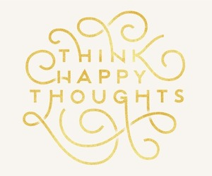 quote, happy, and thoughts image