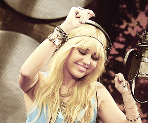 hannah montana, miley cyrus, and blonde image