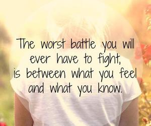 quote, battle, and girl image