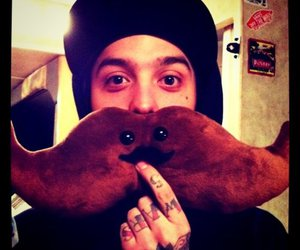 pierce the veil, tony perry, and cute image