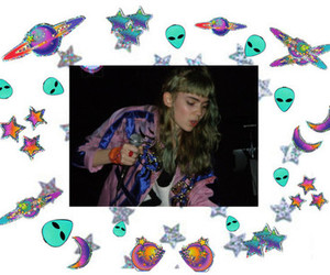 grimes, claire boucher, and the fabulous stains image