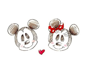 love, cute, and minnie image