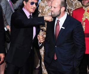 Jason Statham and sylvester stallone image