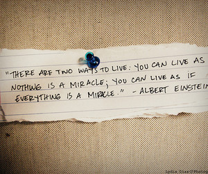 quote, live, and miracle image