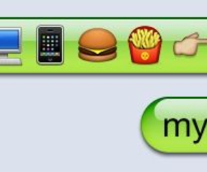 fries, funny, and iphone image