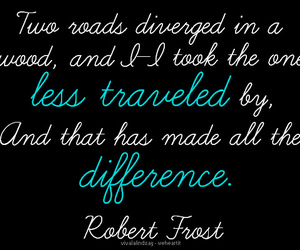 quote, robert frost, and love image