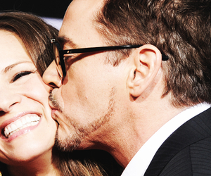 robert downey, the best couple, and cute couplr image