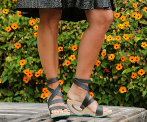 ankle strap, german, and gray image