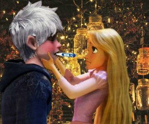 blonde, rise of the guardians, and couple image