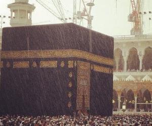 islam, rain, and mecca image