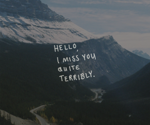 quotes, hello, and miss image
