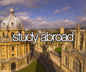 abroad and study image
