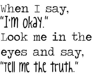 quote, text, and truth image