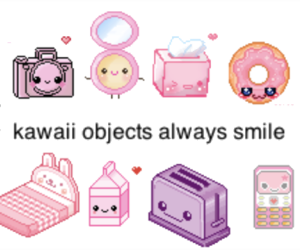kawaii, pink, and sweet image