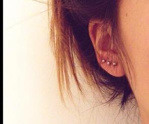 earring, earrings, and girl image